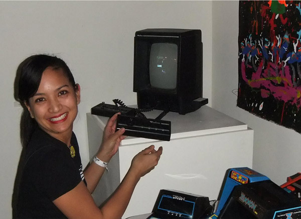 Everyody smiles when playing the Vectrex