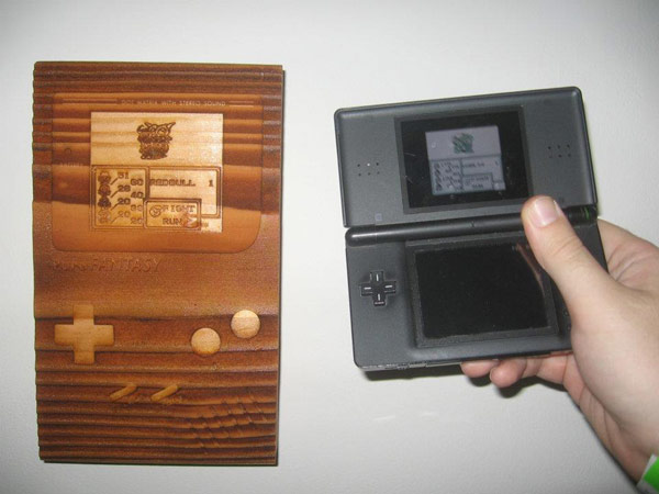 Vanessa Zucker's Game Boy carvings were fantastic.  Which one do I play?