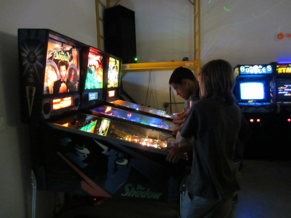 2084 focuses on video games so the pinball selection is limited, but all three are great tables